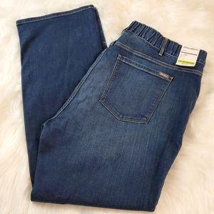 Eddie Bauer Sz 24W Curvy Bootcut Jeans